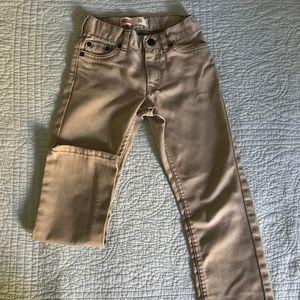 Levi's Boys Size 7 slim fit jeans
